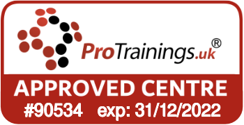 ProTrainings Approved Centre #90534
