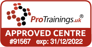 ProTrainings Approved Centre #91567