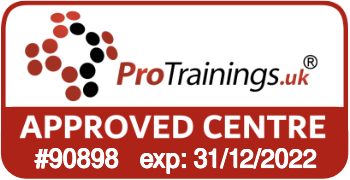 ProTrainings Approved Centre #90898
