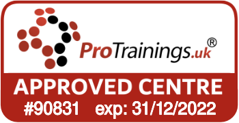 ProTrainings Approved Centre #90831