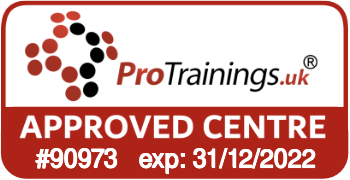 ProTrainings Approved Centre #90973