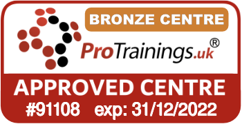 ProTrainings Approved Centre #91108