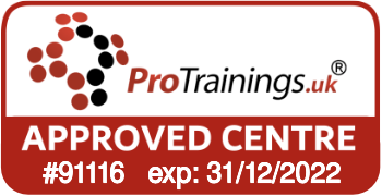 ProTrainings Approved Centre #91116