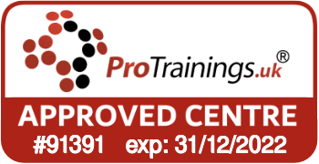 ProTrainings Approved Centre #91391
