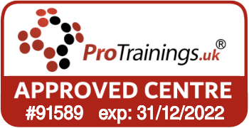 ProTrainings Approved Centre #91589