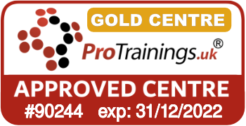 ProTrainings Approved Centre #90244