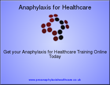 Anaphylaxis for Healthcare Professionals