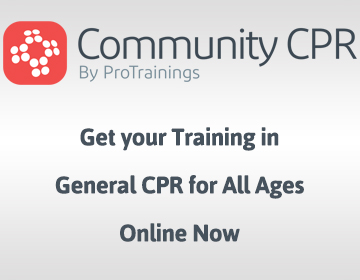 Adult, Child and Infant CPR/AED
