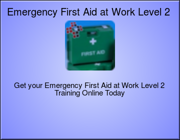 Emergency First Aid at Work Level 3 (VTQ) - EFAW