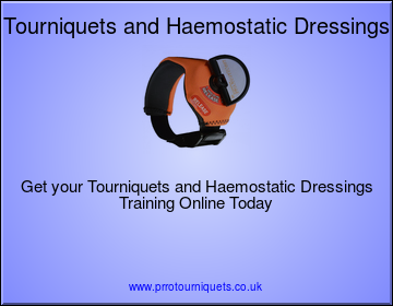 Tourniquets, Haemostatic Dressings and using BSi Critical Injury Kits