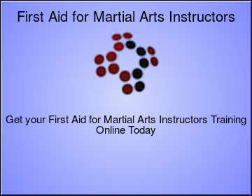 First Aid for Martial Arts Instructors