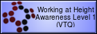 Working at Height Awareness Level 1 (VTQ)