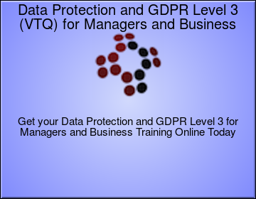 Data Protection and GDPR for Managers and Business