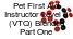 Choose Pet First Aid Instructor Level 3 (VTQ) Blended Part One Icon