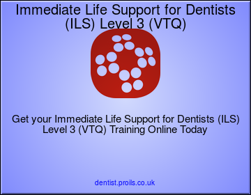 Immediate Life Support for Dentists (ILS) Level 3 (VTQ)