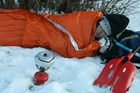Blizzard survival blanket