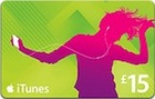 iTunes £15 Gift Card