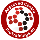 ProTrainings Approved Centre Stickers - pack of 2