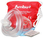 CPR Rescue Masks, with Adult & Infant masks in Zip-Top Carry Case