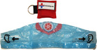 CPR Keychain w/ Face Shield Mask - Red