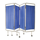 Medical Screen - Four Fold Including Curtains 180cm x 240cm