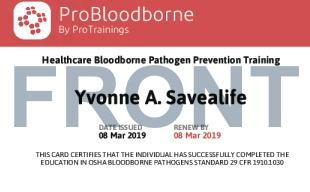 Bloodborne pathogens course details for Bloodborne pathogens for tattoo artists