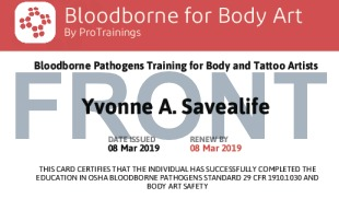 free bloodborne pathogens training