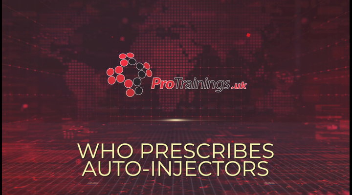 Who prescribes auto injectors?