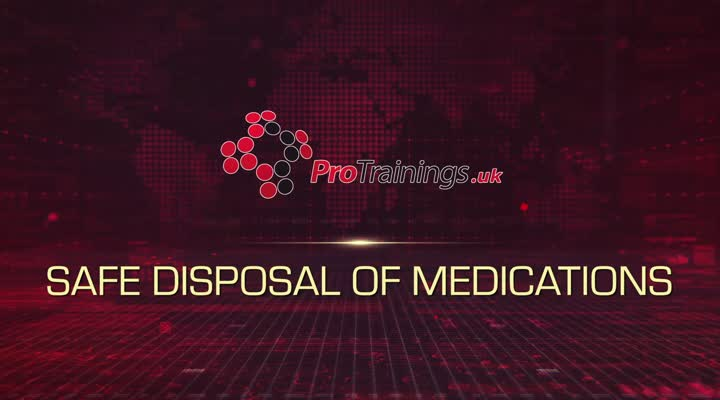 Safe Disposal of Medication