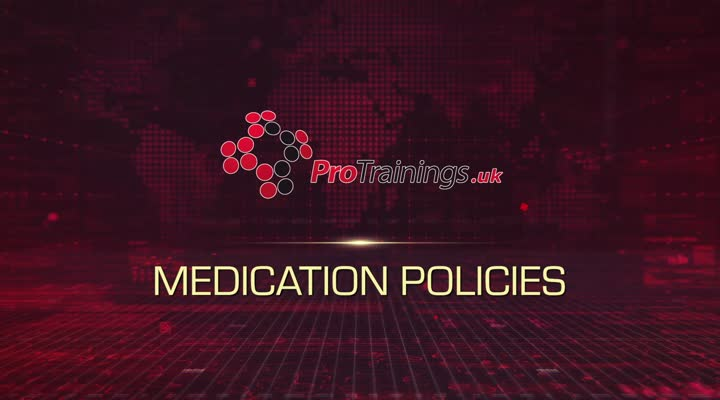 Medication Policies