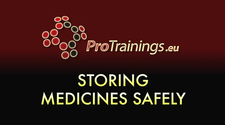 Storing Medication Safely