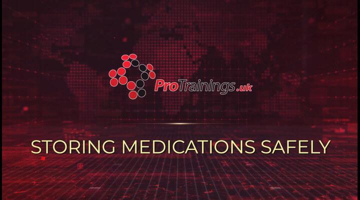 Storing Medication Safely