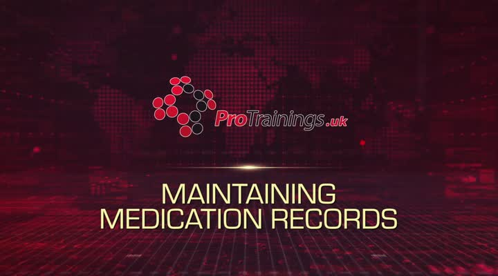 Maintaining Medication Records