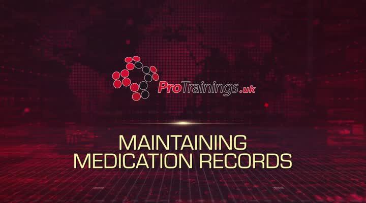 Maintaining Medication Records