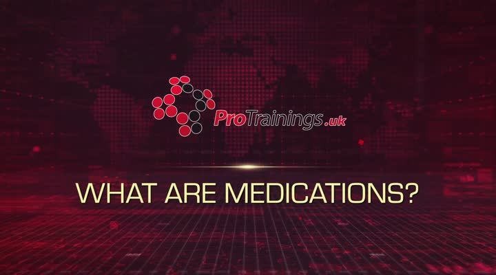 What are Medications, their roles and aims of handling