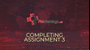 Completing assignments - part 3 (optional)