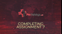 Completing assignments - part 7 (optional)