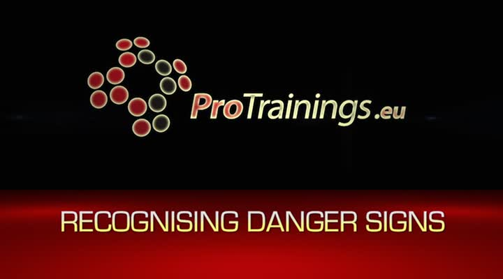 Recognising danger signs