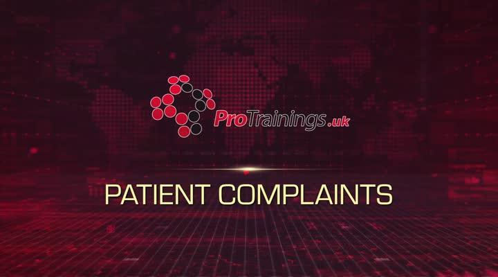 Patient Complaints