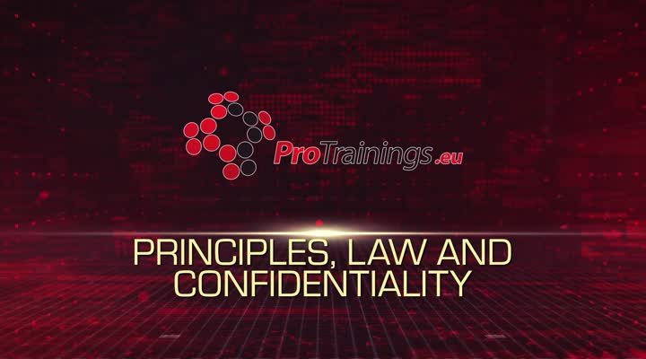 Principles, Law and Confidentiality