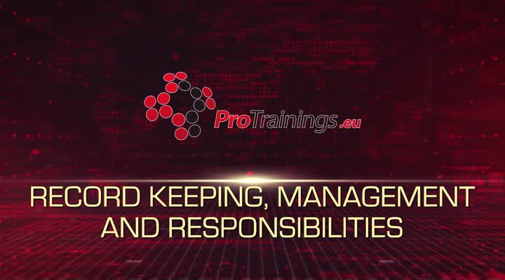 Record Keeping, Management and Responsibilities