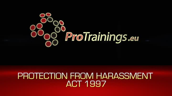 Protection from Harassment Act 1997