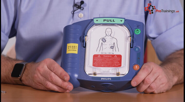 Philips Heartstart AED (optional)