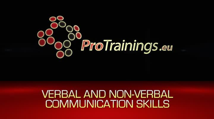 Verbal and non-verbal communication skills