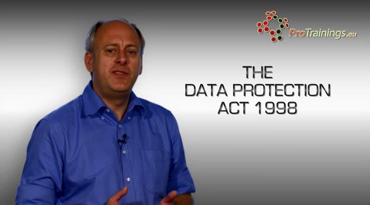 Data Protection Act 1998 - Overview