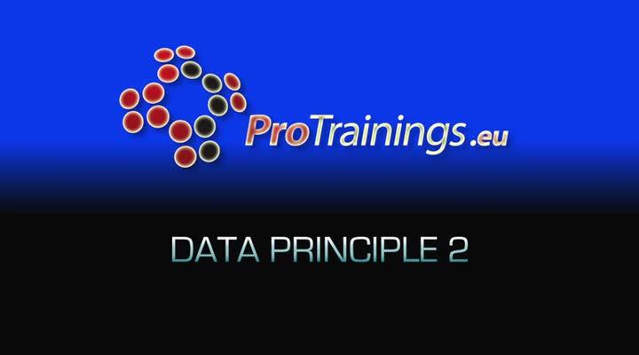 Data Principle 2