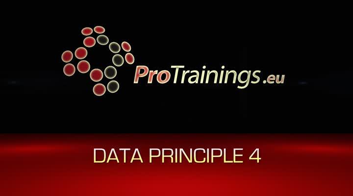 Data principle 4