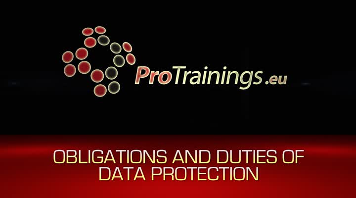 Obligations and duties on Data Controllers The Data protection principals