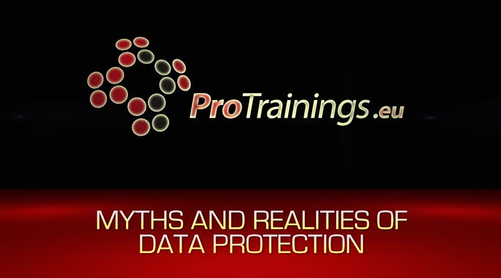 Myths and realities of data protection