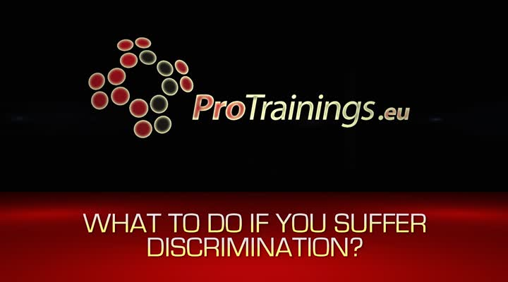 Actions to take if you are the victim of discrimination, you and the law.